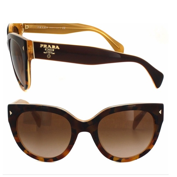 34fa6c104294 Prada Accessories | Sunglasses Brown Authentic | Poshmark